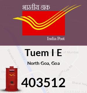 Tuem I E Pincode - 403512