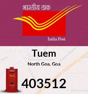Tuem Pincode - 403512