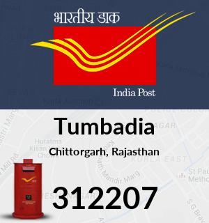 Tumbadia Pincode - 312207