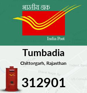 Tumbadia Pincode - 312901