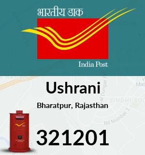 Ushrani Pincode - 321201