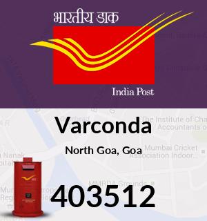 Varconda Pincode - 403512