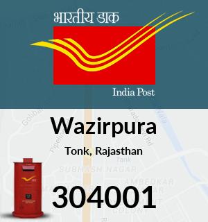 Wazirpura Pincode - 304001