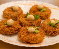 Birds Nest ( Potato Vermicelli Cutlet )