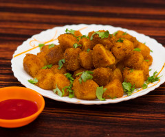 Crispy Potatoes ( Spicy Potato Starters )