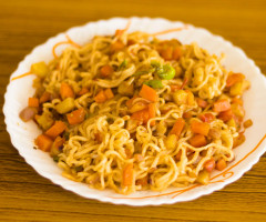 Easy Fried Maggi Noodles Recipe