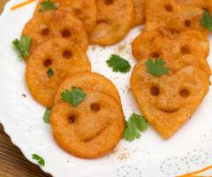 Kid Friendly Easy Potato Smileys Recipe