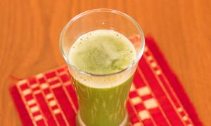 Ginger coriander cucumber juice