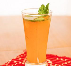Orange And Basil Juice