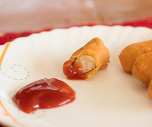 Sausage Pakora