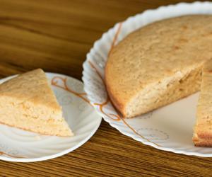 Vanilla Cake Eggless