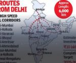 रेलवे 10 और बुलेट ट्रेन कॉरिडोर बनाने पर कर रहा विचार, भेजा प्रस्ताव