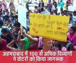 लोकसभा चुनाव: अहमदाबाद में 100 से अधिक दिव्यांगों ने वोटरों को किया जागरूक