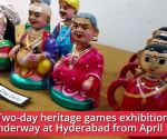 2-day heritage games exhibition underway at Hyderabad