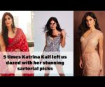 5 times Katrina Kaif left us dazed with her stunning sartorial picks