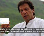 Actor Ali Zafar slammed for supporting Pakistan PM Imran Khan