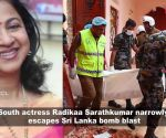 Actress recounts escape from Sri Lanka blast; Alia Bhatt opens up Kangana Ranaut's attacks on her family, and more