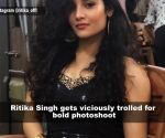 Actress Ritika Singh gets brutally trolled for bold photoshoot