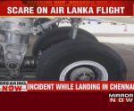 Air Lanka flight suffers tyre burst