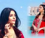 Aishwarya Rai Bachchan paints Doha red, looks ethereal in an ethnic scarlet number