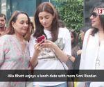 Alia Bhatt enjoys a lunch date with mom Soni Razdan