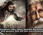 Amitabh Bachchan's generosity won over 'Sye Raa Narasimha Reddy' star Chiranjeevi