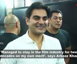 Arbaaz Khan: Getting work on my own merit, not because of Salman Khan