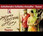 Azhahendra Sollukku Amudha - Teaser | Orange Music