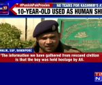 Bandipora encounter: Terrorists held minor as hostage, use him as a human shield against army