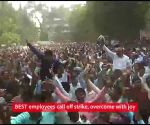 BEST employees call off strike, overcome with joy