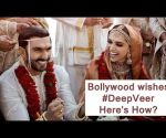 Bollywood wishes DeepVeer happiness forever after
