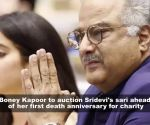 Boney Kapoor to auction Sridevi's handwoven Kota sari