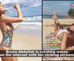 Bruna Abdullah's latest photo is raising the mercury over the internet