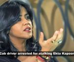 Cab driver arrested for stalking Ekta Kapoor; Akshay Kumar pinned to ground by BSF woman officer, and more…
