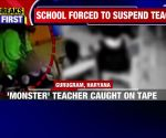 Caught on camera: Teacher uses tape to silence LKG children in class