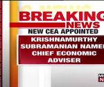 Centre appoints Krishnamurthy Subramanian as new Chief Economic Adviser