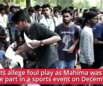 Chennai: Fellow students protest as teen dies during college sports event