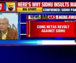 Congress warns Navjot Singh Sidhu over controversial remarks