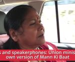 Cows and speakerphones: Union minister's own version of Mann Ki Baat