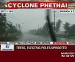 Cyclone Phethai hits coastal Andhra Pradesh, 1 killed, many fishermen go missing