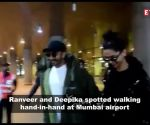 Deepika Padukone and Ranveer Singh are back to the bay after finishing UK schedule of Kabir Khan's '83'