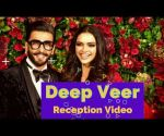 Deepika Padukone Ranveer Singh Wedding Reception Video #DeepVeer