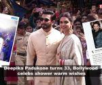 Deepika Padukone turns 33, Bollywood celebs shower warm wishes