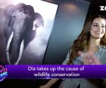Dia Mirza talks about wildlife conservation