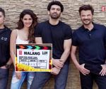 Disha Patani and Aditya Roy Kapur spotted riding a bike on 'Malang' set