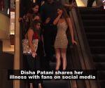 Disha Patani falls ill, shares news with fans on social media