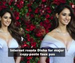 Disha Patani gets brutally trolled over her copy-paste error
