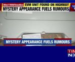 EVM machine found lying unattended on road in Rajasthan's Kishanganj constituency