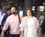 Fans go crazy as Virat Kohli and Anushka Sharma land at the Bengaluru airport
