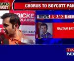 Former Indian cricketer Gautam Gambhir backs total boycott of Pak